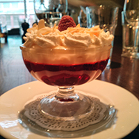 A mighty trifle at Hotel du Vin, Edinburgh