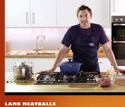 Graeme Pallister video lamb meatballs