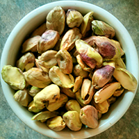 Pistachios add colour and texture.
