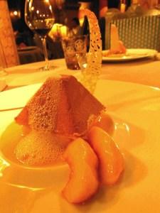 Dessert at Chateau de Codignat