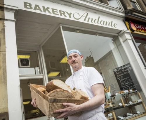 Bakery Andante, Edinburgh