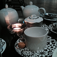 Bar Missoni offers a good selection of teas and alcohol free drinks too.