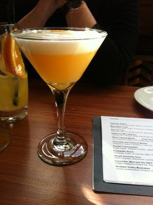 Molecular Cocktail at Bistro Moderne