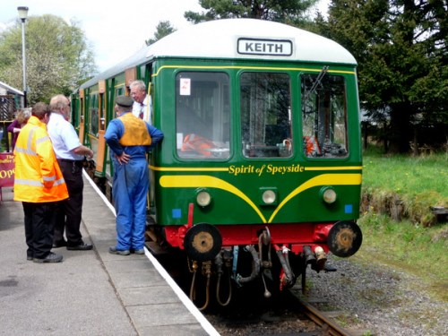 All aboard! Dufftown and Keith Railway