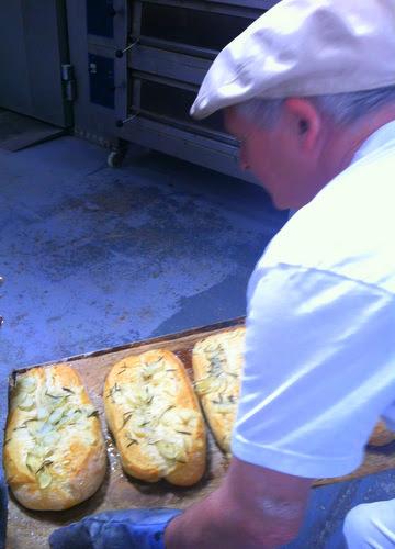 Sean with Rosemary Potato Bread