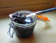 Luscious cherry jam