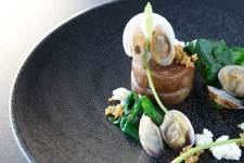 Pork and Clams at Aizle http://www.sallyjubbphotography.com/
