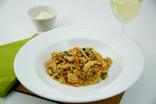 Chef Mattia's Turkey Risotto