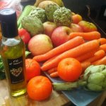 Fresh, ripe and delicious veg all the way from Spain – juice challenge