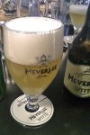 Heverlee Witte, holding its on against other wheat beers.