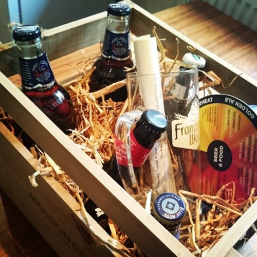 Molson Coors beer crate