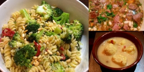 Caroline's favourite dishes: Broccoli pasta, lamb tagine and cauliflower