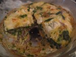 Goat's cheese and spinach frittata: the perfect lunch