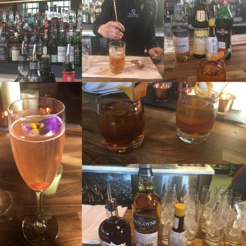 An amazing array of whiskies are on offer at The Cannonball Restaurant & Bar