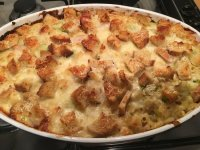 My smoked bacon and leek macaroni cheese is the ultimate comfort food