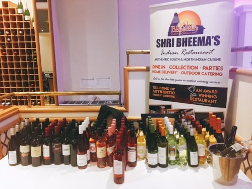 Dispel the myth - wine can be paired with curry. Shri Bheema's dispels this myth
