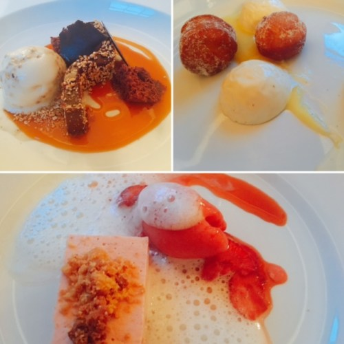 Desserts at the Dining Room