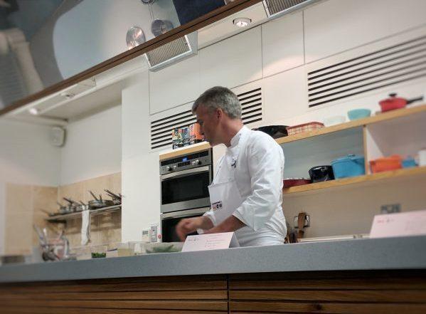 Martin Wishart in Action.