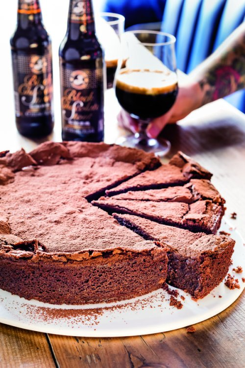 Brewdog chocolate torte