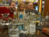 Ginnasium is a great way to learn about gin and make new friends. (Ours was a very convivial group.)