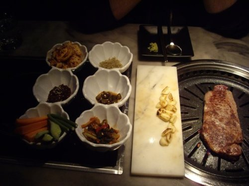 Korean BBQ meal