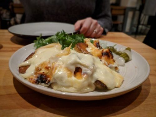 Raclette. Oh my, was it good! (Stop drooling.)
