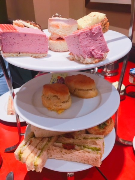 An afternoon tea in three acts, Patisserie Valerie's tea will satisfy the savoury and sweet lovers among you