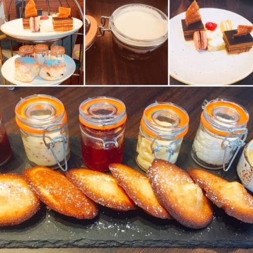 Some of the sweet treats on offer from the Afternoon Teas at the Lantern Room