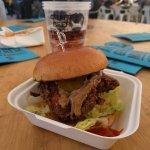 The Buffalo Truck classic burger