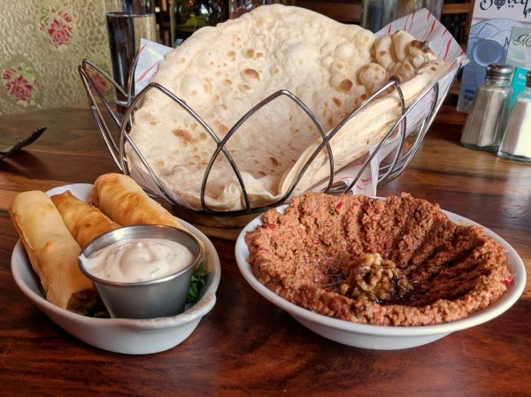 Look at that naan! And the borek! We know how to start off a meal.