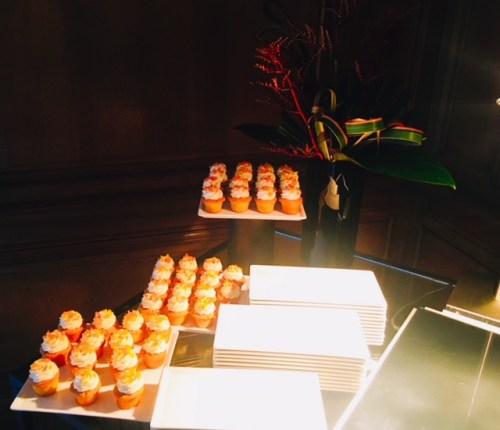 The Irn-Bru cupcakes were surprisingly delicious