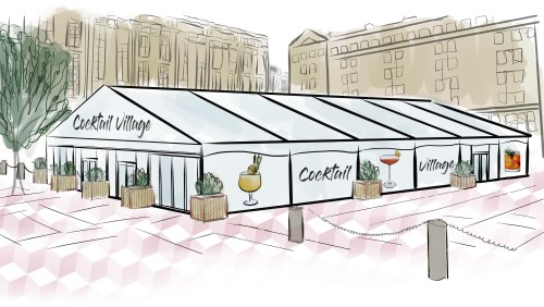 The Cocktail Village at Festival Square