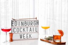 Join in the fun at Edinburgh Cocktail Week