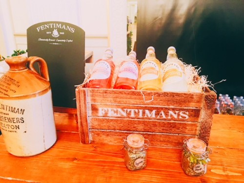 Fentimans were on hand to add some sparkle to tonics with their mixers