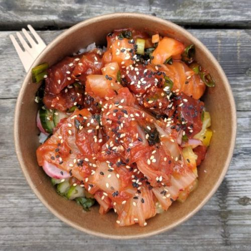 A poke bowl of joy.