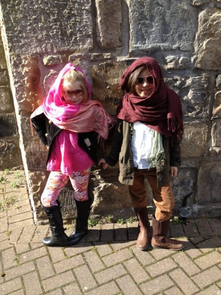 Many years ago - Maddie and Ameena learn about the Middle East