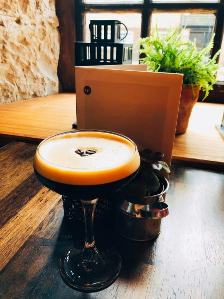 The Espresso Martini was my drink of choice to accompany my afternoon tea