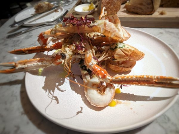 Langoustines. Another of the finest products Scotland produces. (There's a lot.)