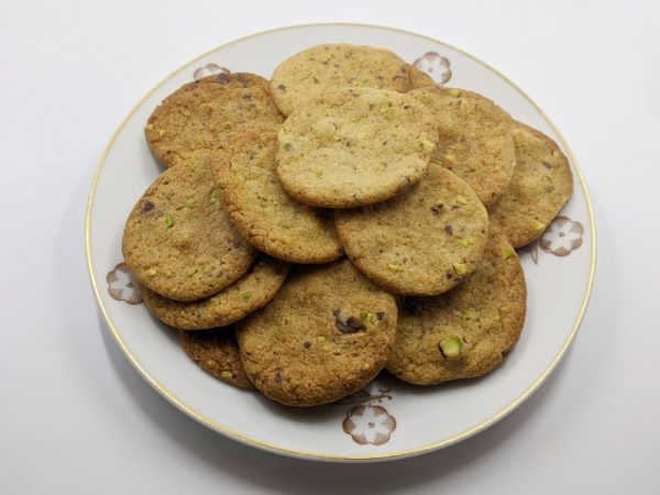 Bondkakor (farm biscuits) – making a Swedish classic a little fancier with pistachios & chocolate