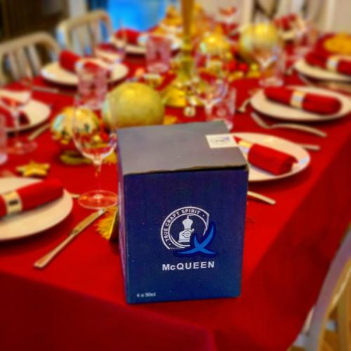 McQueen Gins ensured Hogmanay went out with a bang!