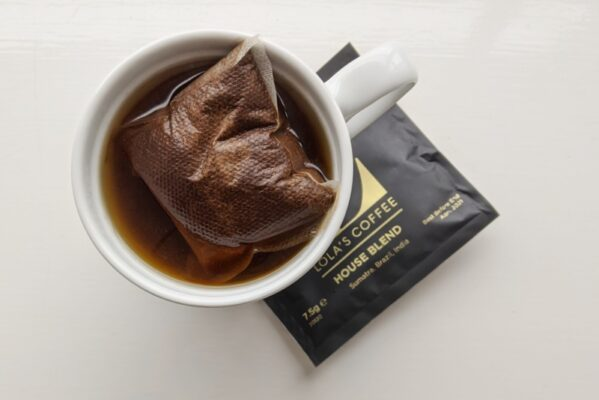 Coffee bags: just as convenient as tea bags.