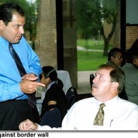 County Judge Salinas applauds Gov. Richardson's promise to bring down planned U.S. border wall