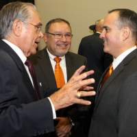 Valley native Pedro Reyes, Ph.D., top academic leader at UT System, to return to the classroom; Congressman Hinojosa announces $685,976 grant for UT-RGV students in math and political science