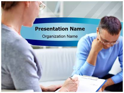 Free Psychology Therapy Medical PowerPoint Template for Medical
