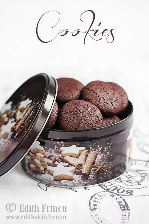 biscuiti cu cacao si zmeura