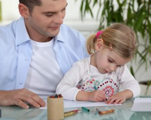 father-daughter-painting