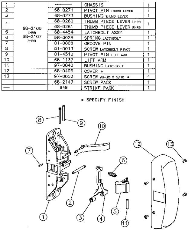 wiring diagrams by sargent locks