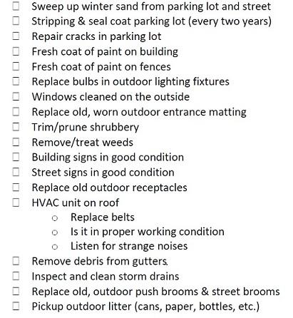 Exterior Maintenance Tips Outdoor Inspection Checklist Edmer