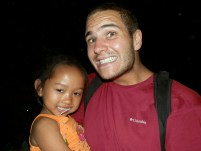 Me and Cute Girl in Cambodia