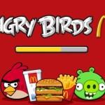 Les Piafs d'Angry Birds font leur Nid chez Mc Donald's